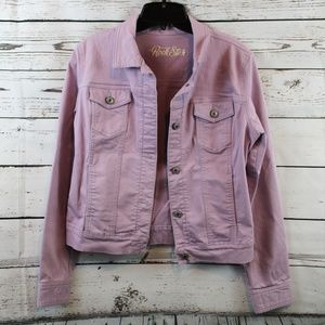OLD NAVY ROCKSTAR JEAN JACKET Z01